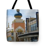 Sectional View Tajmahal Hotel Atalantic Beaches And Board Walk America Photography By Navinjoshi At  Tote Bag