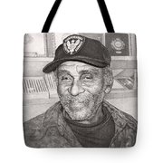 Security Man Tote Bag