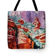 Sedona Arizona Rocky Canyon Tote Bag
