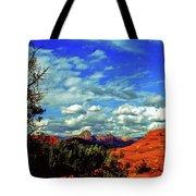 Sedona Capitol Butte Tote Bag