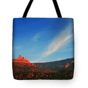 Sedona Clouds Tote Bag