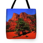 Sedona Red Rock Tote Bag