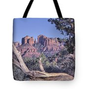 Sedona Red Rocks Framed Tote Bag
