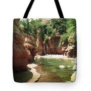 Sedona River Rock Oak Creek Tote Bag