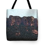 Sedona Rock Formation Tote Bag