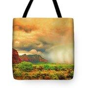 Sedona Storm, Sedona, Arizona Tote Bag