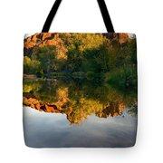 Sedona Sunset Tote Bag by Mike  Dawson