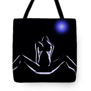 Seduction In The Moonlight Tote Bag