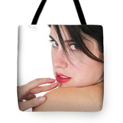 Seductive Woman Tote Bag