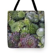 Sedum Plants Used As Green Roof Tote Bag