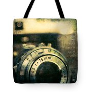 See Breathe Exhale Click Repeat Tote Bag