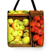 See Canyon Apples Tote Bag
