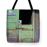 See-through Doors Tote Bag