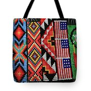 Seed Beading Tote Bag by Tracy Hall