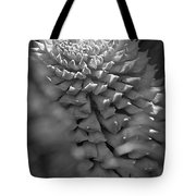 Seed Pod Black And White Tote Bag