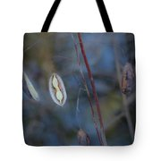 Seeds In A Pod Dark Tote Bag