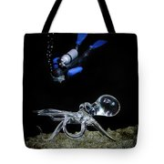 Seeing Eye To Eye Tote Bag