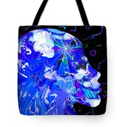Seeing The Universe Inside Tote Bag