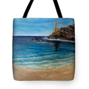 Seek A Source Of Light Built On A Firm Foundation To Guide You Safely To Shore Tote Bag
