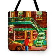 Segal's Fruit And Variety Store Tote Bag