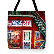 Segal's Market St.lawrence Boulevard Montreal Tote Bag