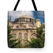 Sehzade Mosque Tote Bag