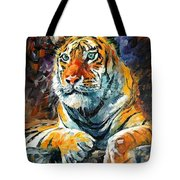 Seibirian Tiger  Tote Bag