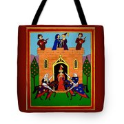 Seige Of The Castle Of Love Tote Bag