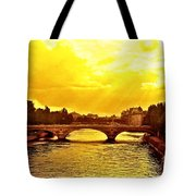 Seine View Tote Bag