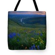 Selah Sunset Tote Bag