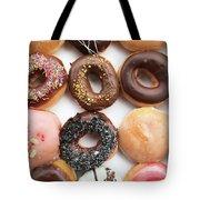 Selection Of Doughnut Tote Bag