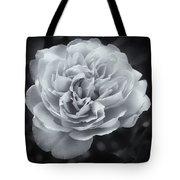 Selenium White Rose Tote Bag