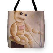 Self Infliction Tote Bag