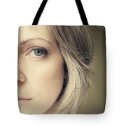 Self-portrait Tote Bag by Amy Tyler