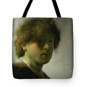 Self Portrait As A Young Man Tote Bag