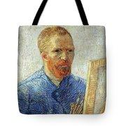 Self Portrait As An Artist Tote Bag