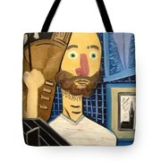 Self-portrait As Homage To Picasso Tote Bag