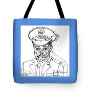Self Portrait As Soldier Tote Bag