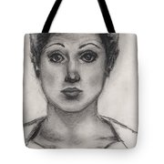 Self Portrait At Age 18 Tote Bag