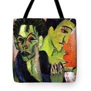 Self-portrait, Double Portrait Tote Bag