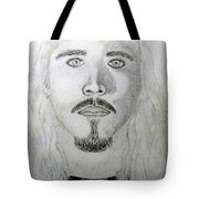 Self-portrait Drawing Tote Bag