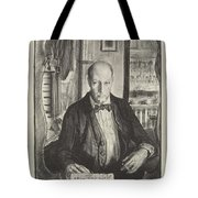 Self-portrait, First State By George Bellows 1882-1925 Tote Bag