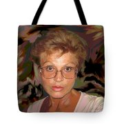 self portrait II Tote Bag