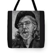 Self Portrait In Grey Tote Bag
