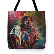 Self Portrait In Progress Tote Bag