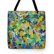 Self Portrait In The Woods Tote Bag