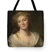 Self-portrait Of The Artist Tote Bag