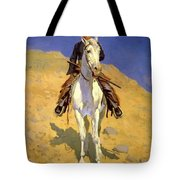 Self Portrait On A Horse 1890 Tote Bag