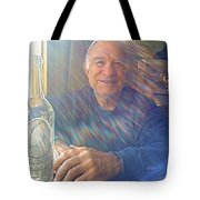 Self Portrait One - Light Through The Window Tote Bag