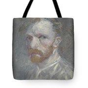 Self-portrait Paris, July   August 1887 Vincent Van Gogh 1853  1890 Tote Bag